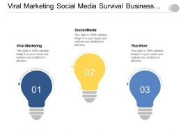 Viral Marketing Social Media Survival Business Development Test Markets Cpb