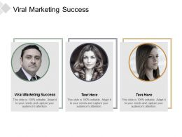 Viral Marketing Success Ppt Powerpoint Presentation Gallery Deck Cpb