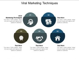Viral Marketing Techniques Ppt Powerpoint Presentation Visual Aids Layouts Cpb