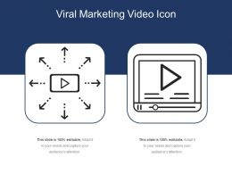 Viral Marketing Video Icon