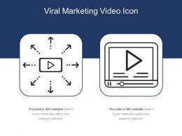 Viral Marketing Video Icon