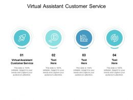 Virtual Assistant Customer Service Ppt Powerpoint Presentation Slide Download Cpb