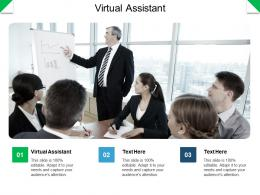Virtual Assistant Ppt Powerpoint Presentation Inspiration Outline Cpb