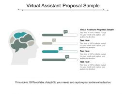 Virtual Assistant Proposal Sample Ppt Powerpoint Presentation Portfolio Graphics Cpb