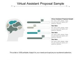 Virtual Assistant Proposal Sample Ppt Powerpoint Presentation Portfolio Graphics Cpb