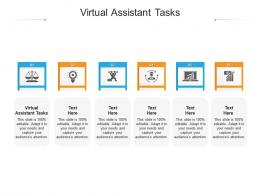 Virtual Assistant Tasks Ppt Powerpoint Presentation Pictures Visuals Cpb