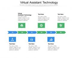 Virtual Assistant Technology Ppt Powerpoint Presentation Inspiration Information Cpb