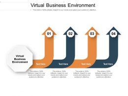 Virtual Business Environment Ppt Powerpoint Presentation Visual Aids Ideas Cpb