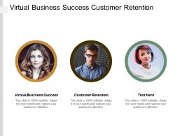 Virtual Business Success Customer Retention Inbound Marketing Strategy Template Cpb