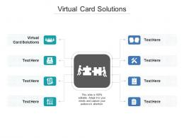 Virtual Card Solutions Ppt Powerpoint Presentation Inspiration Clipart Images Cpb