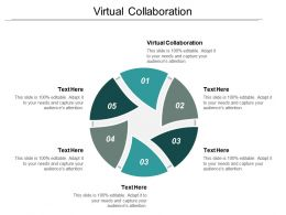 Virtual Collaboration Ppt Powerpoint Presentation Inspiration Background Image Cpb