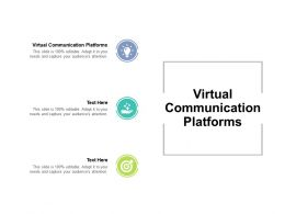 Virtual Communication Platforms Ppt Powerpoint Presentation Outline Slide Download Cpb