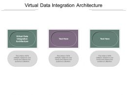 Virtual Data Integration Architecture Ppt Powerpoint Presentation Outline Background Designs Cpb