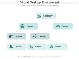 Virtual Desktop Environment Ppt Powerpoint Presentation Outline Maker Cpb