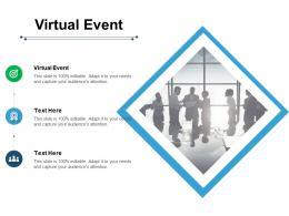 Virtual Event Ppt Powerpoint Presentation Infographics Files Cpb