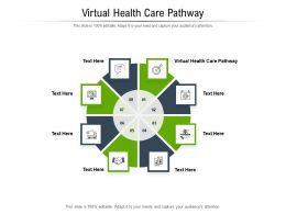 Virtual Health Care Pathway Ppt Powerpoint Presentation Show Files Cpb