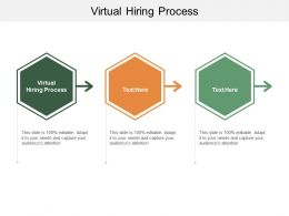 Virtual Hiring Process Ppt Powerpoint Presentation Visual Aids Pictures Cpb