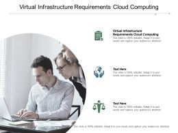 Virtual Infrastructure Requirements Cloud Computing Ppt Powerpoint Presentation Cpb
