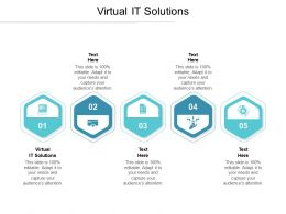Virtual IT Solutions Ppt Powerpoint Presentation Professional Model Cpb