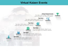 Virtual Kaizen Events Ppt Powerpoint Presentation Infographic Template Graphics Download Cpb