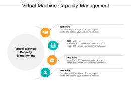 Virtual Machine Capacity Management Ppt Powerpoint Presentation Infographic Template Cpb