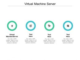 Virtual Machine Server Ppt Powerpoint Presentation Model Vector Cpb