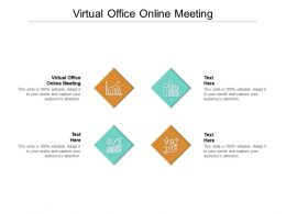 Virtual Office Online Meeting Ppt Powerpoint Presentation Inspiration Background Image Cpb