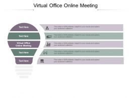 Virtual Office Online Meeting Ppt Powerpoint Presentation Introduction Cpb