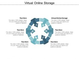 Virtual Online Storage Ppt Powerpoint Presentationmodel Brochure Cpb