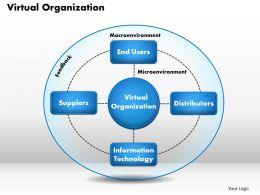 Virtual Organization powerpoint presentation slide template