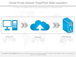 Virtual Private Network Powerpoint Slide Inspiration