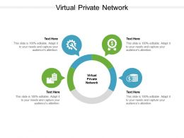 Virtual Private Network Ppt Powerpoint Presentation File Design Ideas Cpb