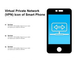 Virtual Private Network VPN Icon Of Smart Phone