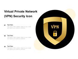 Virtual Private Network VPN Security Icon