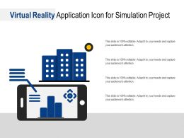 Virtual Reality Application Icon For Simulation Project