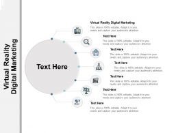 Virtual Reality Digital Marketing Ppt Powerpoint Presentation Infographics Icons Cpb