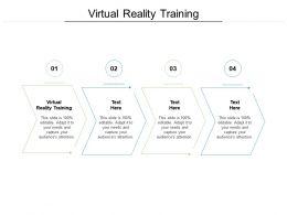 Virtual Reality Training Ppt Powerpoint Presentation Portfolio Backgrounds Cpb