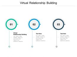 Virtual Relationship Building Ppt Powerpoint Presentation Gallery Template