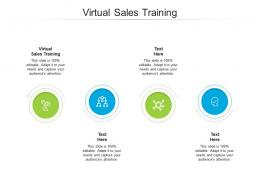 Virtual Sales Training Ppt Powerpoint Presentation Pictures Example Cpb