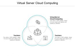 Virtual Server Cloud Computing Ppt Powerpoint Presentation Styles Professional Cpb