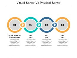 Virtual Server Vs Physical Server Ppt Powerpoint Presentation Infographic Cpb
