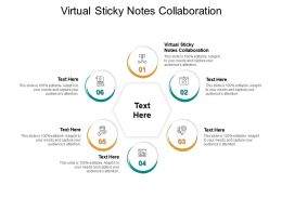 Virtual Sticky Notes Collaboration Ppt Powerpoint Summary Information Cpb