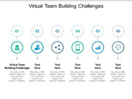 Virtual Team Building Challenges Ppt Powerpoint Presentation Gallery Visuals Cpb