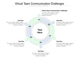Virtual Team Communication Challenges Ppt Powerpoint Presentation Styles Graphics Design Cpb