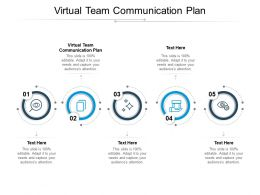 Virtual Team Communication Plan Ppt Powerpoint Presentation Outline Styles Cpb