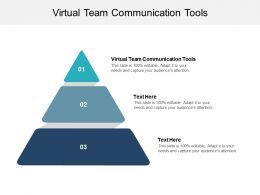 Virtual Team Communication Tools Ppt Powerpoint Presentation Infographic Template Cpb
