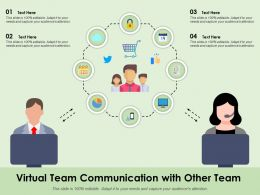 Virtual Team Communication With Other Team