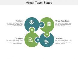 Virtual Team Space Ppt Powerpoint Presentation Pictures Background Cpb