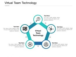 Virtual Team Technology Ppt Powerpoint Presentation File Layout Cpb