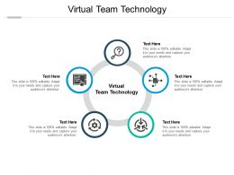 Virtual Team Technology Ppt Powerpoint Presentation Gallery Grid Cpb